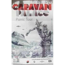 Caravan Palace - AFFICHE MUSIQUE / CONCERT / POSTER