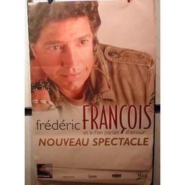 Frédéric François - AFFICHE MUSIQUE / CONCERT / POSTER