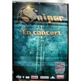 Sniper - 2004 - AFFICHE MUSIQUE / CONCERT / POSTER