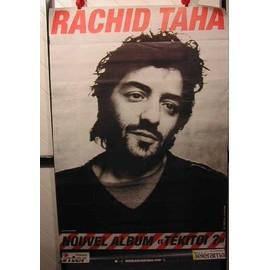 TAHA RACHID - AFFICHE MUSIQUE / CONCERT / POSTER