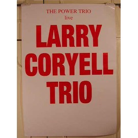 Coryell Larry - AFFICHE MUSIQUE / CONCERT / POSTER