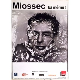 Miossec - Ici Bas, ici Même - AFFICHE MUSIQUE / CONCERT / POSTER
