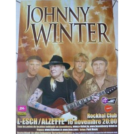 Johnny Winter - AFFICHE MUSIQUE / CONCERT / POSTER