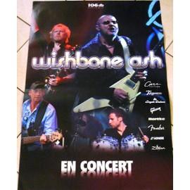Wishbone Ash - AFFICHE MUSIQUE / CONCERT / POSTER