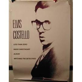 COSTELLO Elvis - AFFICHE MUSIQUE / CONCERT / POSTER