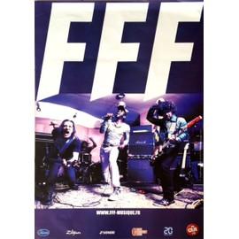 FFF - AFFICHE MUSIQUE / CONCERT / POSTER