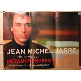 Jarre Jean-Michel - Metamorphoses - AFFICHE MUSIQUE / CONCERT / POSTER