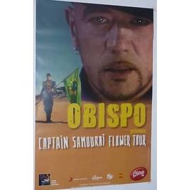 OBISPO PASCAL - AFFICHE MUSIQUE / CONCERT / POSTER