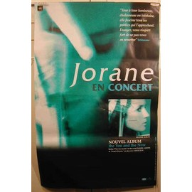 Jorane - AFFICHE MUSIQUE / CONCERT / POSTER