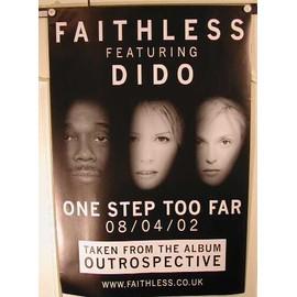 Faithless - + DIDO - AFFICHE MUSIQUE / CONCERT / POSTER