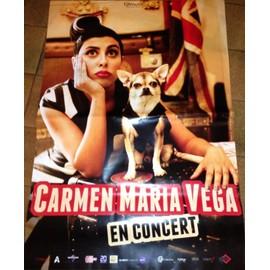 Carmen Maria VEGA - AFFICHE MUSIQUE / CONCERT / POSTER