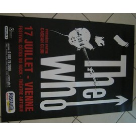 The Who - AFFICHE MUSIQUE / CONCERT / POSTER