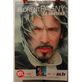 PAGNY FLORENT - AFFICHE MUSIQUE / CONCERT / POSTER