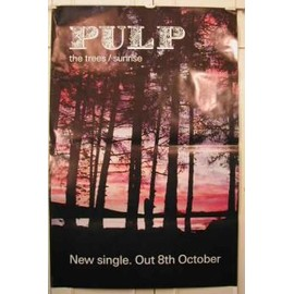 Pulp - AFFICHE MUSIQUE / CONCERT / POSTER