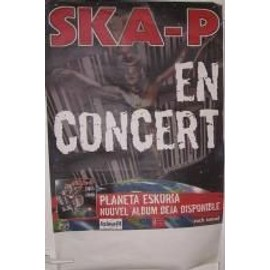 Ska-p - AFFICHE MUSIQUE / CONCERT / POSTER