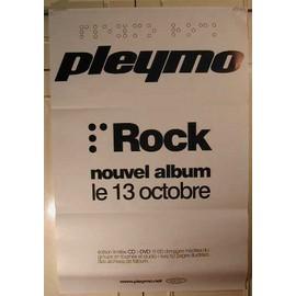 Pleymo - 2004 - AFFICHE MUSIQUE / CONCERT / POSTER
