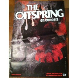 The Offspring - AFFICHE MUSIQUE / CONCERT / POSTER