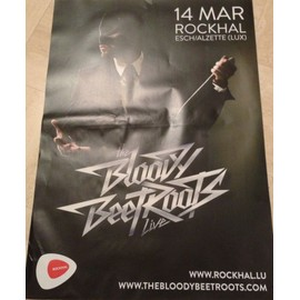 The Bloody Beet Roots - AFFICHE MUSIQUE / CONCERT / POSTER