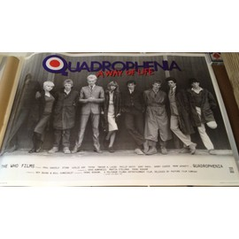 Quadrophenia - A Way Of Life - Sting - AFFICHE MUSIQUE / CONCERT / POSTER