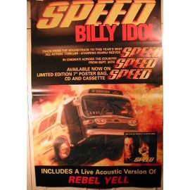 Billy Idol - Speed - AFFICHE MUSIQUE / CONCERT / POSTER