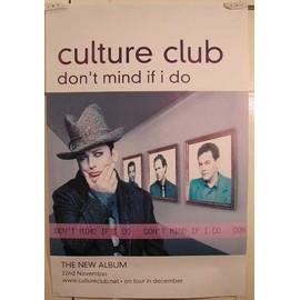 Culture Club - AFFICHE MUSIQUE / CONCERT / POSTER