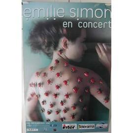 Simon Emilie - 2004 - AFFICHE MUSIQUE / CONCERT / POSTER