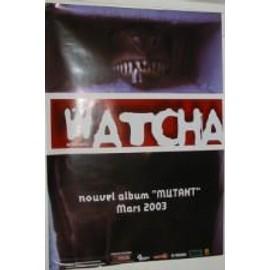Watcha - AFFICHE MUSIQUE / CONCERT / POSTER