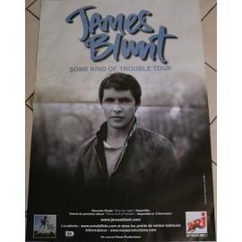 James BLUNT - AFFICHE MUSIQUE / CONCERT / POSTER