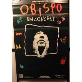 Pascal OBISPO - AFFICHE MUSIQUE / CONCERT / POSTER