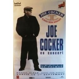 Cocker Joe - AFFICHE MUSIQUE / CONCERT / POSTER