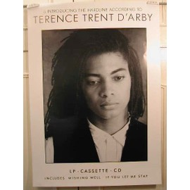 Terence Trent D'Arby - AFFICHE MUSIQUE / CONCERT / POSTER