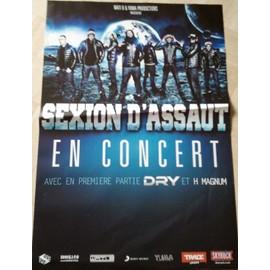 Sexion d'Assaut - En concert - AFFICHE MUSIQUE / CONCERT / POSTER