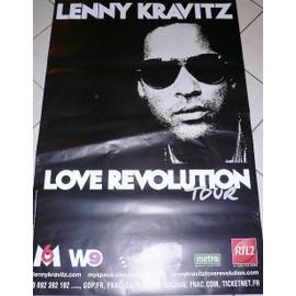 Lenny KRAVITZ - AFFICHE MUSIQUE / CONCERT / POSTER