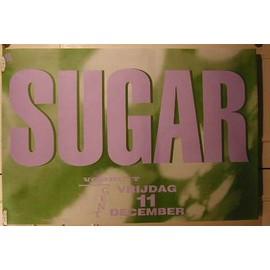 Sugar - AFFICHE MUSIQUE / CONCERT / POSTER