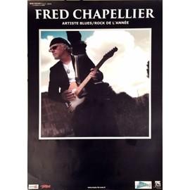 Fred CHAPELLIER - AFFICHE MUSIQUE / CONCERT / POSTER