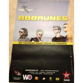 BBBRUNES - BB Brunes - AFFICHE MUSIQUE / CONCERT / POSTER