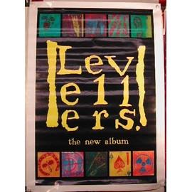 LEVELLERS - UK 1992 - AFFICHE MUSIQUE / CONCERT / POSTER