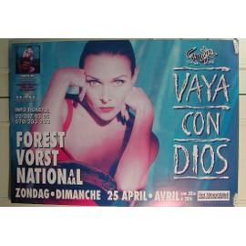 Vaya Con Dios - AFFICHE MUSIQUE / CONCERT / POSTER