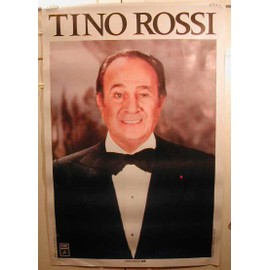 Rossi Tino - AFFICHE MUSIQUE / CONCERT / POSTER