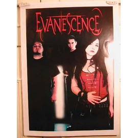 Evanescence - PF41 - AFFICHE MUSIQUE / CONCERT / POSTER