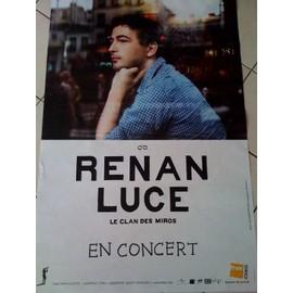 Renan LUCE - AFFICHE MUSIQUE / CONCERT / POSTER