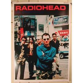 Radiohead - AFFICHE MUSIQUE / CONCERT / POSTER