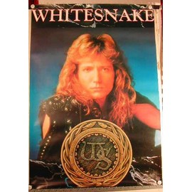 Whitesnake - AFFICHE MUSIQUE / CONCERT / POSTER