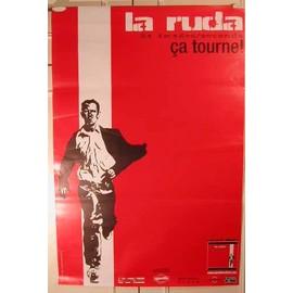 La Ruda - AFFICHE MUSIQUE / CONCERT / POSTER