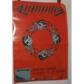 Lofofora - 2003 - AFFICHE MUSIQUE / CONCERT / POSTER