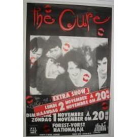 Cure The - AFFICHE MUSIQUE / CONCERT / POSTER