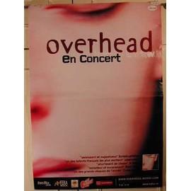 Overhead - AFFICHE MUSIQUE / CONCERT / POSTER