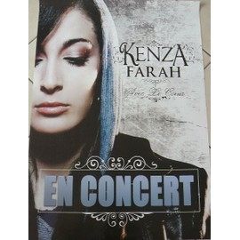 KENZA FARAH - 2009 - AFFICHE MUSIQUE / CONCERT / POSTER