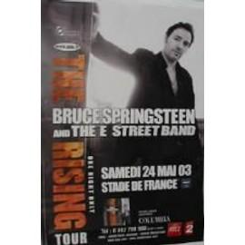 Bruce Springsteen - 2003 - AFFICHE MUSIQUE / CONCERT / POSTER