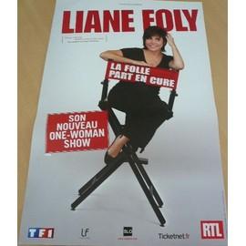 Liane Foly - La Folle part En Cure - AFFICHE MUSIQUE / CONCERT / POSTER